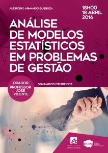 Análise de modelos estatísticos em problemas de gestão-01